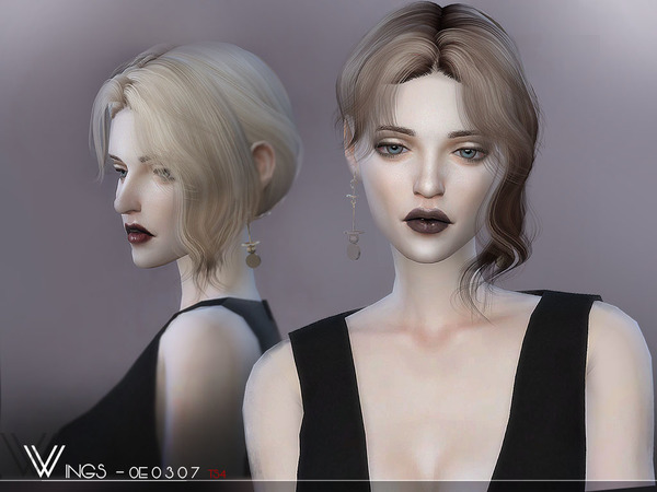 Hair OE0307 by wingssims at TSR image 346 Sims 4 Updates
