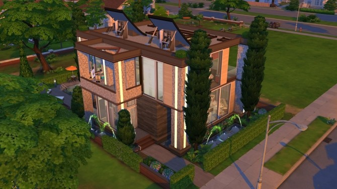 Eureka House NoCC by OxanaKSims at Mod The Sims image 348 670x377 Sims 4 Updates
