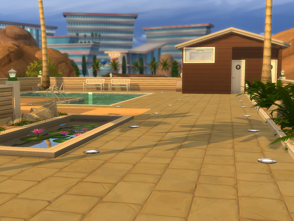 Little Lido & Bar by CherryNellie at TSR image 354 Sims 4 Updates