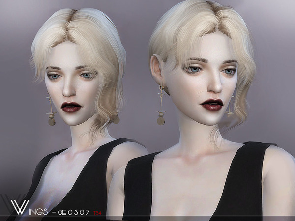 Hair OE0307 by wingssims at TSR image 357 Sims 4 Updates