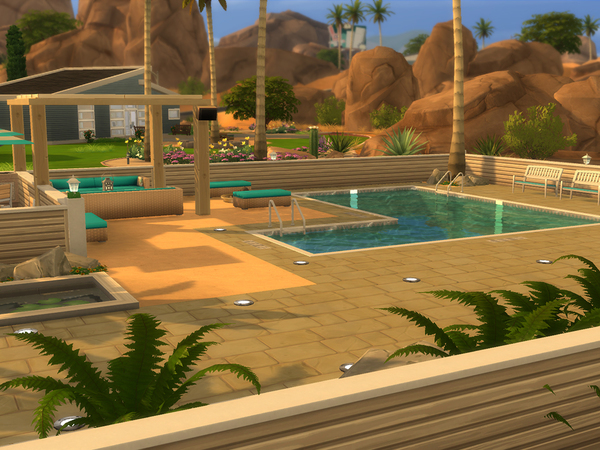 Little Lido & Bar by CherryNellie at TSR image 364 Sims 4 Updates