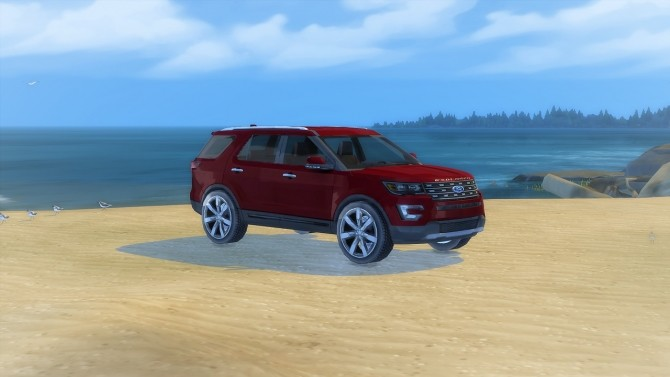 Ford Explorer at LorySims image 3661 670x377 Sims 4 Updates