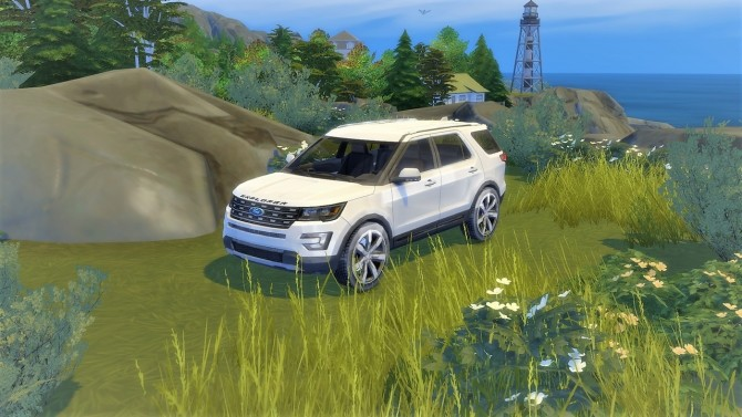 Ford Explorer at LorySims image 3671 670x377 Sims 4 Updates