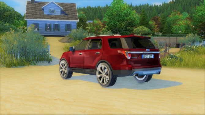 Ford Explorer at LorySims image 3681 670x377 Sims 4 Updates