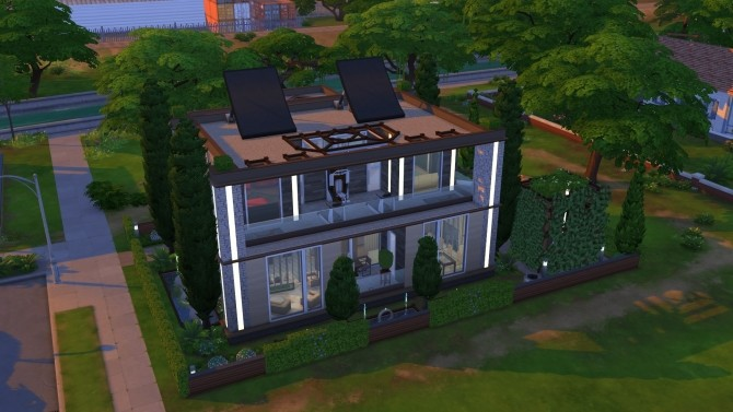Eureka House NoCC by OxanaKSims at Mod The Sims image 369 670x377 Sims 4 Updates