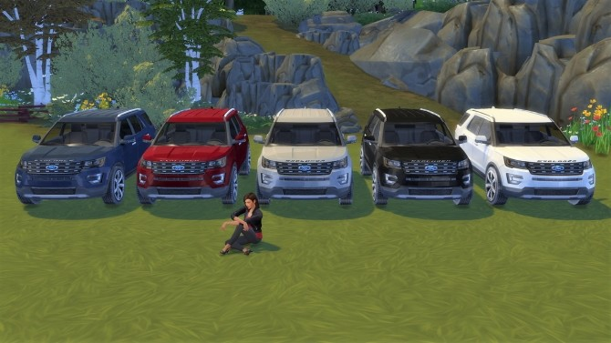 Ford Explorer at LorySims image 3701 670x377 Sims 4 Updates