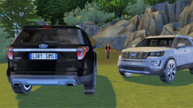 Ford Explorer at LorySims image 37110 670x377 Sims 4 Updates
