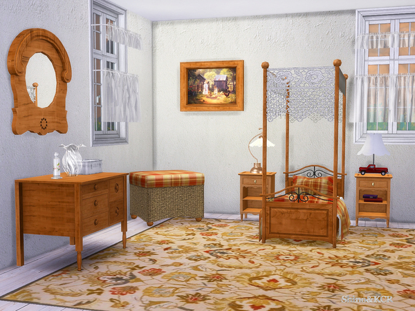 Country Kids room by ShinoKCR at TSR image 3712 Sims 4 Updates