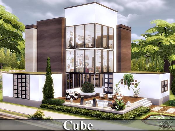 Sims 4 Cube house by Danuta720 at TSR