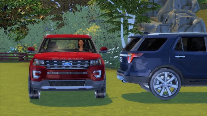 Ford Explorer at LorySims image 3721 670x377 Sims 4 Updates