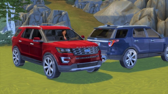 Ford Explorer at LorySims image 3741 670x377 Sims 4 Updates