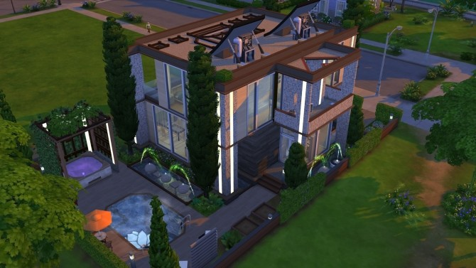 Eureka House NoCC by OxanaKSims at Mod The Sims image 379 670x377 Sims 4 Updates
