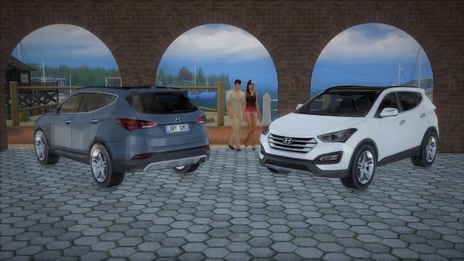 Hyundai Santa Fe at LorySims image 3801 670x377 Sims 4 Updates