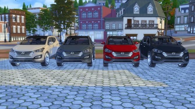 Hyundai Santa Fe at LorySims image 3821 670x377 Sims 4 Updates