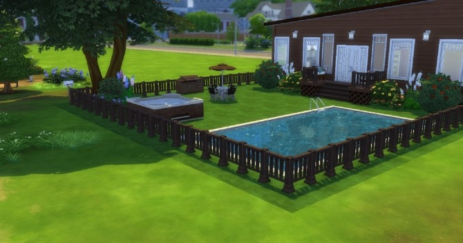 Sims 4 Chocolate home by EzzieValentine at Mod The Sims
