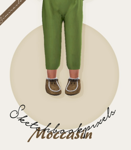 Sketchbookpixels Moccasin For Toddlers 3T4 at Simiracle image 3971 Sims 4 Updates