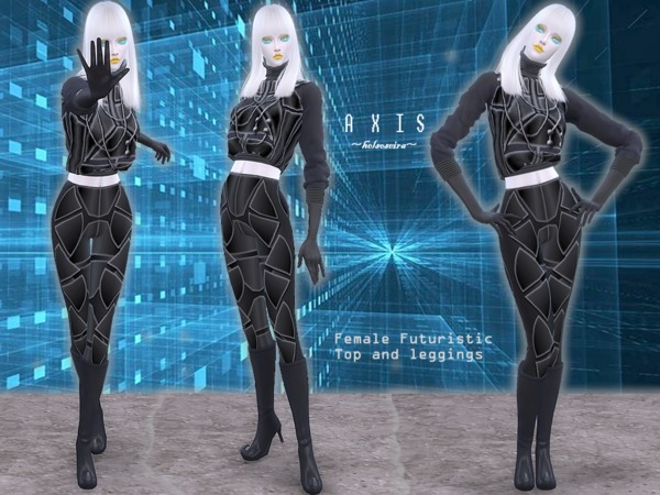 AXIS Futuristic Set by Helsoseira at TSR image 4020 Sims 4 Updates