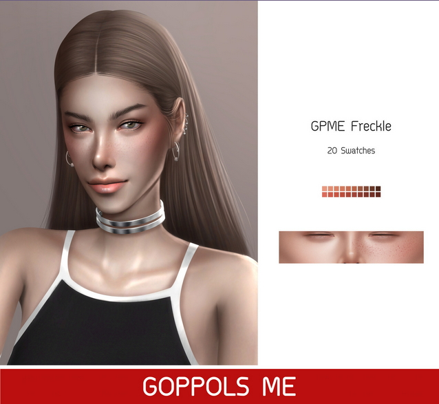 GPME Freckles at GOPPOLS Me image 4021 Sims 4 Updates