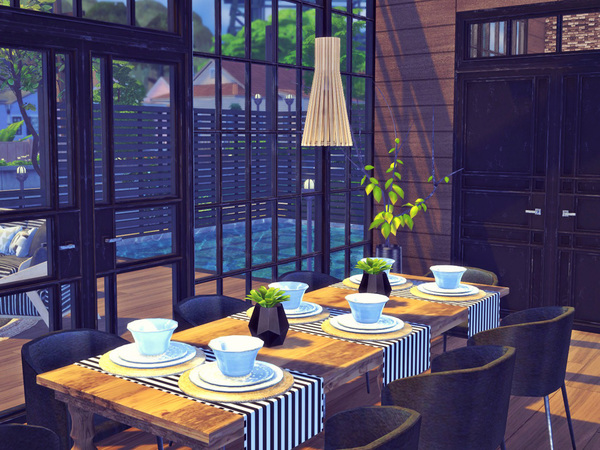 Golden Ray house by Sooky at TSR image 4100 Sims 4 Updates