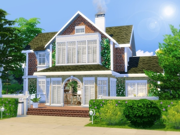 Oak View house by MychQQQ at TSR image 4101 Sims 4 Updates