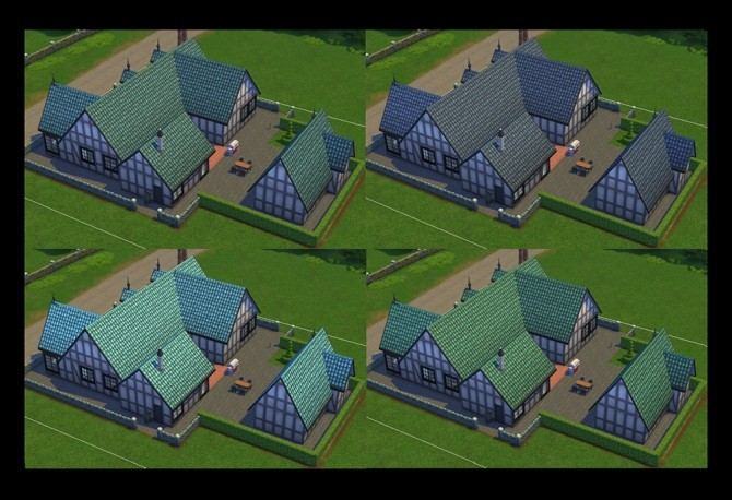 Sims 4 Mission Style Rooftop from Jungle Adventure by Simmiller at Mod The Sims