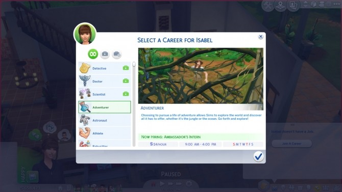 Adventurer Career by GoBananas at Mod The Sims image 4122 670x377 Sims 4 Updates