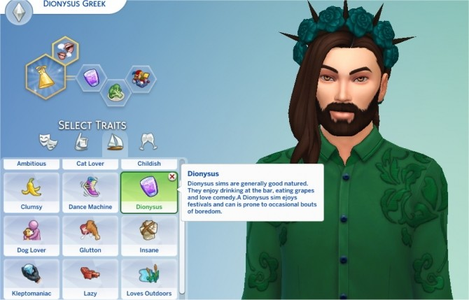 Dionysus Trait by PurpleThistles at Mod The Sims image 4211 670x429 Sims 4 Updates