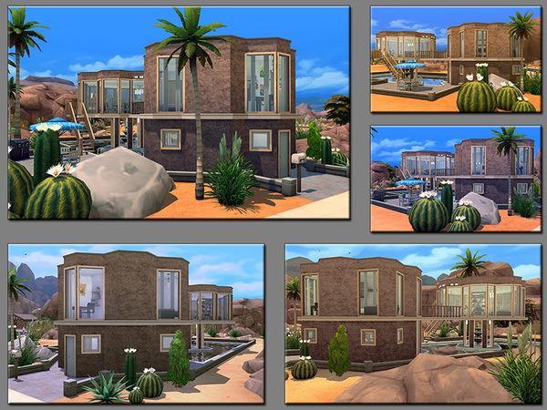 MB Flowting Flower house by matomibotaki at TSR image 4222 Sims 4 Updates