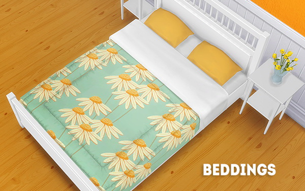 Beddings 20 recolors at Lina Cherie image 4231 Sims 4 Updates