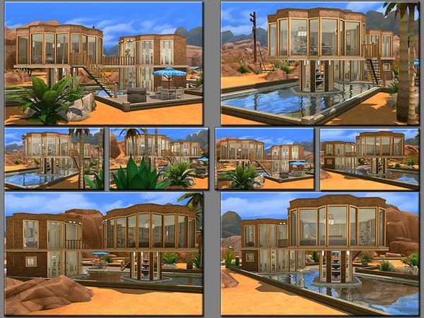 MB Flowting Flower house by matomibotaki at TSR image 4320 Sims 4 Updates