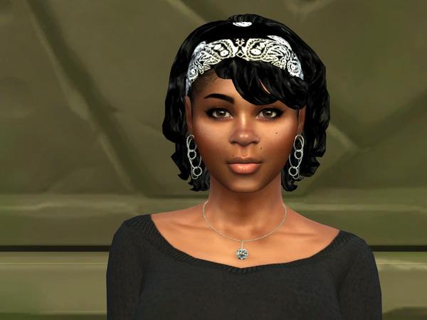 Sims 4 Bang Wavy Bandana by drteekaycee at TSR