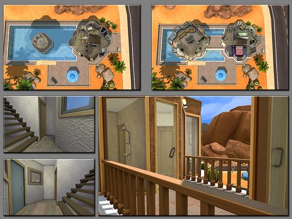 MB Flowting Flower house by matomibotaki at TSR image 4420 Sims 4 Updates