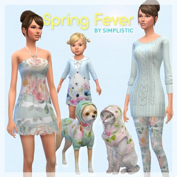 Spring Fever CAS Set at SimPlistic image 4517 670x670 Sims 4 Updates