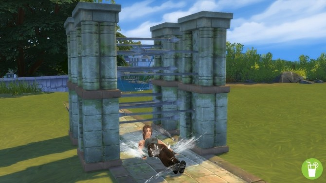 Water Slide with spears by Sri at Mod The Sims image 4622 670x377 Sims 4 Updates