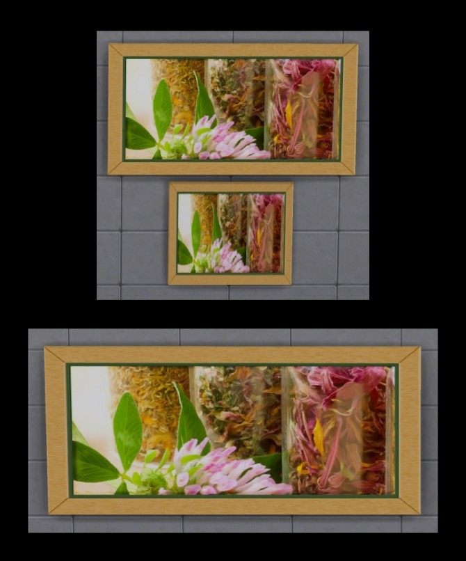 Herbs and Spice Paintings by Simmiller at Mod The Sims image 469 670x806 Sims 4 Updates