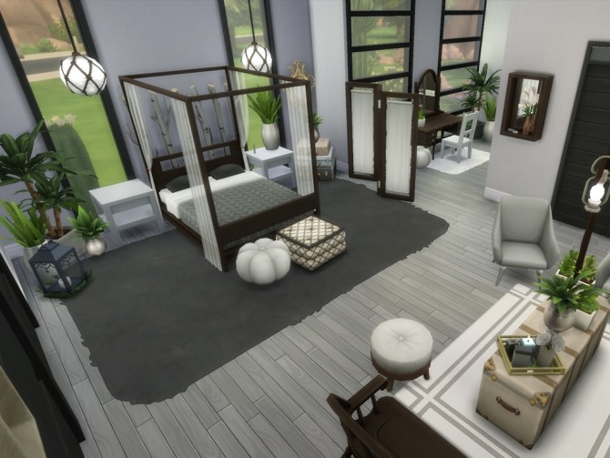 Modern Oasis Springs Mansion by rayunemoon at Mod The Sims image 4912 670x503 Sims 4 Updates
