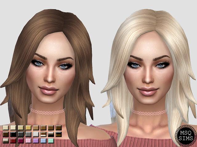 LongRocker Hair Recolor at MSQ Sims image 4921 Sims 4 Updates