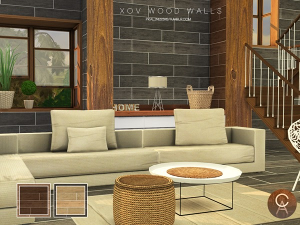 XOV Wood Walls by Pralinesims at TSR image 497 Sims 4 Updates