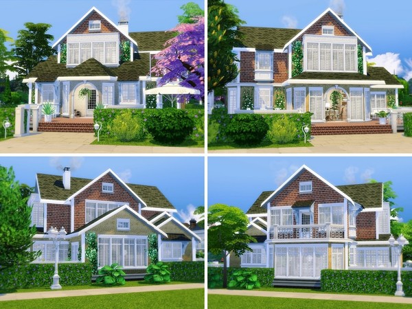 Oak View house by MychQQQ at TSR image 5101 Sims 4 Updates