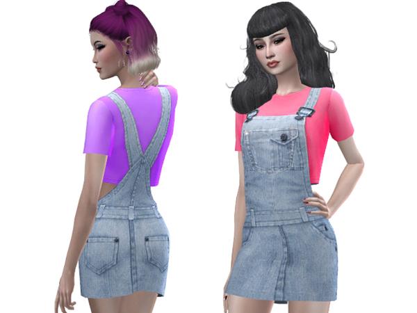 Sims 4 Rebecca dress by Simalicious at TSR