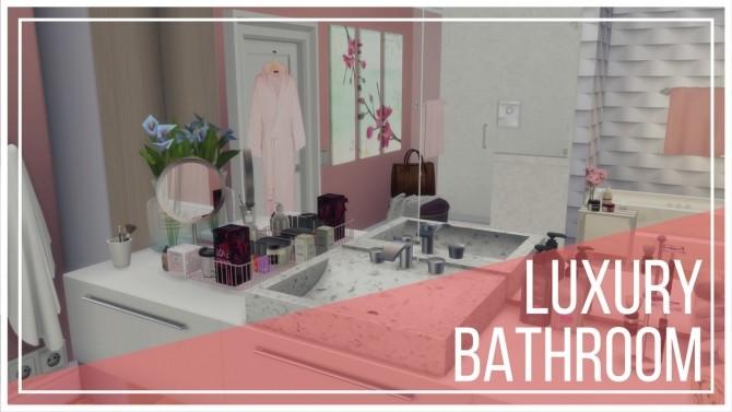 Sims 4 Luxury Bathroom II at Dinha Gamer
