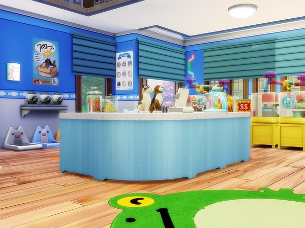 Cute Pets Store by MychQQQ at TSR image 5121 Sims 4 Updates