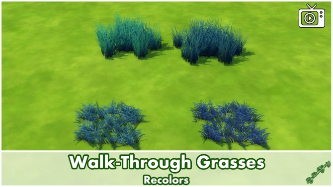 Walk Through Grasses by Bakie at Mod The Sims image 5125 670x377 Sims 4 Updates