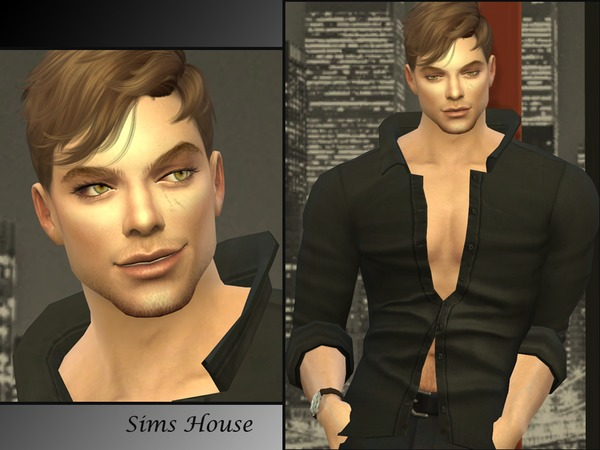 Sims 4 James Stone by Sims House at TSR