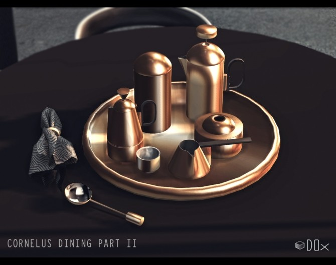 Sims 4 Cornelus Dining Part I and II (P) at DOX