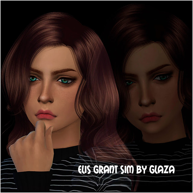 ELIS GRANT at All by Glaza image 526 Sims 4 Updates