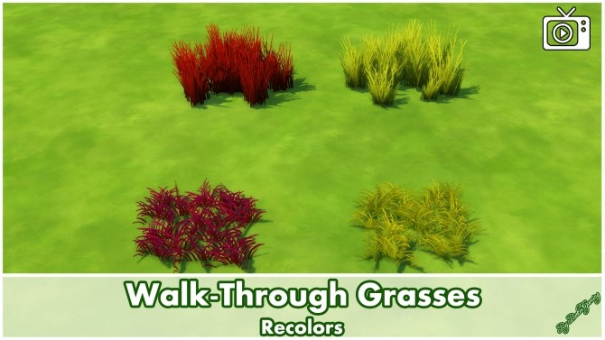 Walk Through Grasses by Bakie at Mod The Sims image 5323 670x377 Sims 4 Updates