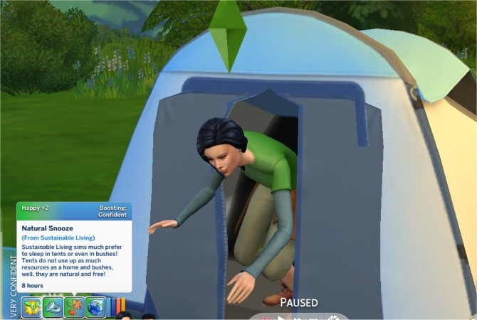 Sims 4 Sustainable Living Trait by PurpleThistles at Mod The Sims