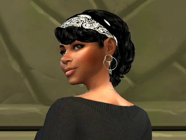 Bang Wavy Bandana by drteekaycee at TSR image 539 Sims 4 Updates