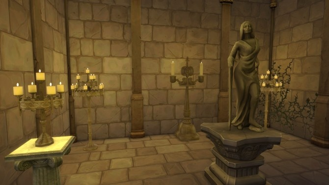 Sims 4 Three Candelabra from TS3 by TheJim07 at Mod The Sims